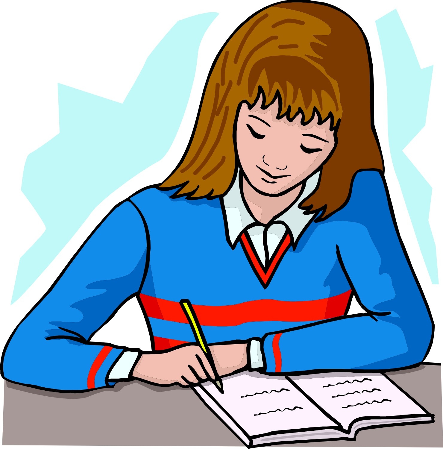 Boy turning in assignment clipart image Assignments Clipart   Free Download Clip Art   Free Clip Art   on ... image