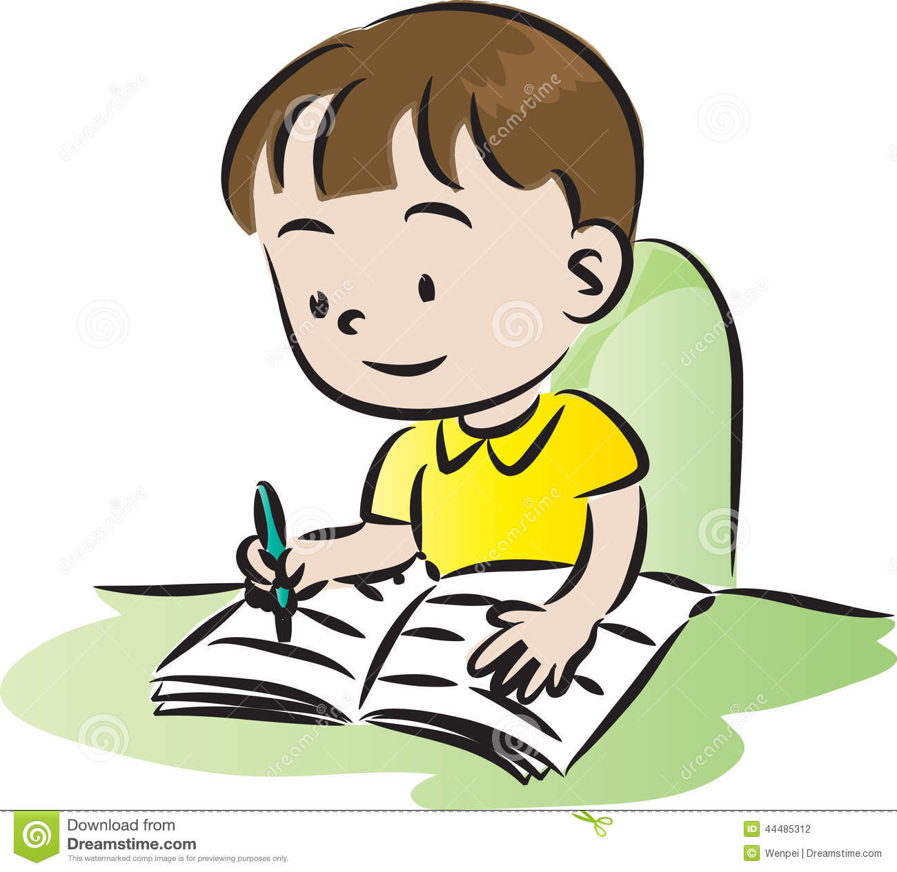Clipartfox baby homeworkclipart. Boy turning in assignment clipart