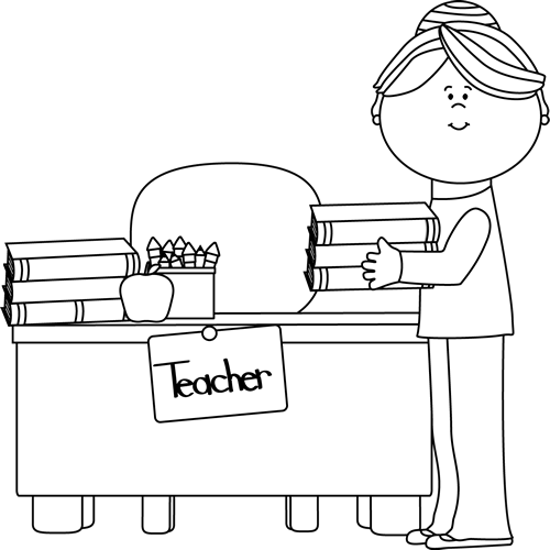 Boy turning in assignment to teacher clipart black and white clip free stock Boy turning in assignment to teacher clipart - ClipartFox clip free stock