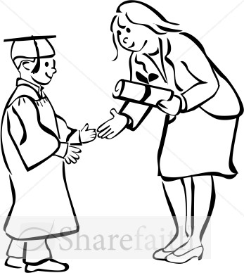 Boy turning in assignment to teacher clipart black and white clip art library Boy turning in assignment to teacher clipart - ClipartFox clip art library