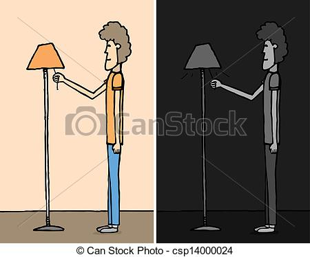 Boy turning lights of clipart download Boy turning lights of clipart - ClipartFest download
