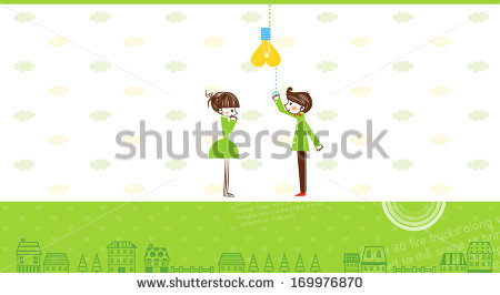 Boy turning lights off clipart svg free stock A Boy Turning Off A Lightbulb. Stock Photo 169976870 : Shutterstock svg free stock
