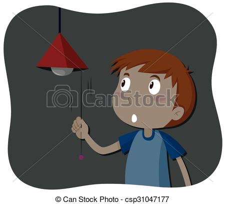 Boy turning lights off clipart png royalty free library Boy turning lights off clipart - ClipartFest png royalty free library