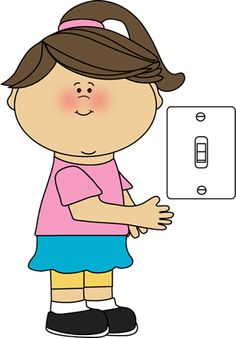 Boy turning lights off clipart image transparent library Turn lights off clipart - ClipartFox image transparent library