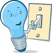 Boy turning lights off clipart png library Turn lights off clipart - ClipartFox png library