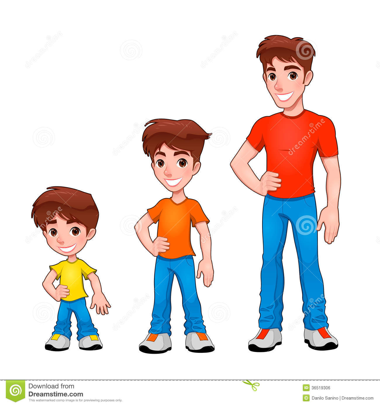 Boy turning to man clipart svg black and white stock Man and boy clipart - ClipartFest svg black and white stock
