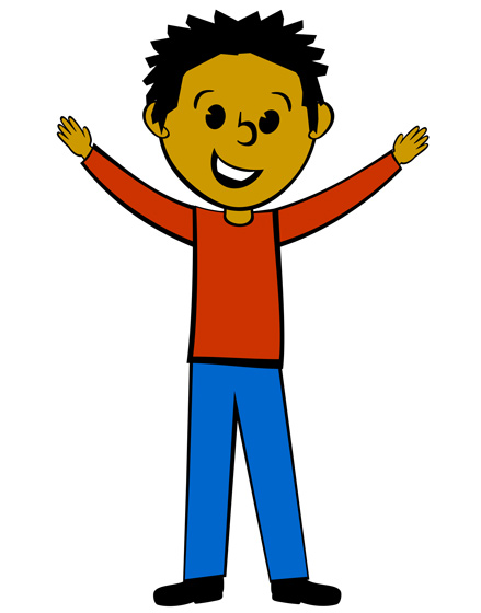 Boy turning to man clipart graphic freeuse download This Guy Hands Clipart - Clipart Kid graphic freeuse download