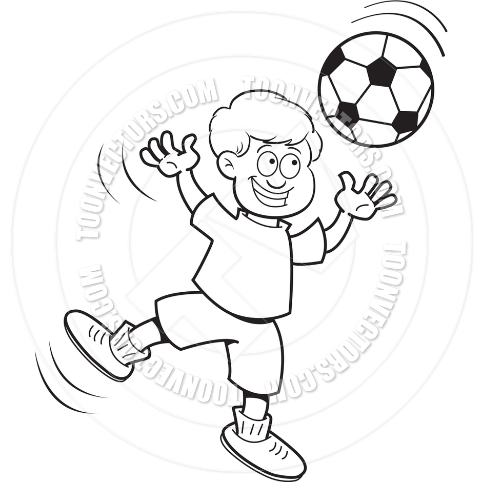 Boy valentine soccer clipart clip art transparent stock Black Boy Soccer Clipart clip art transparent stock
