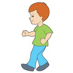Free walking clipart vector library library free clip art child walking - Google Search | Clever Clips ... vector library library