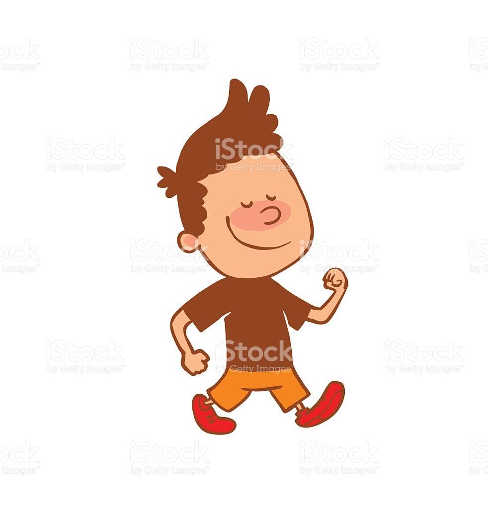 Boy walking clipart svg transparent download Boy walking clipart 6 » Clipart Station svg transparent download
