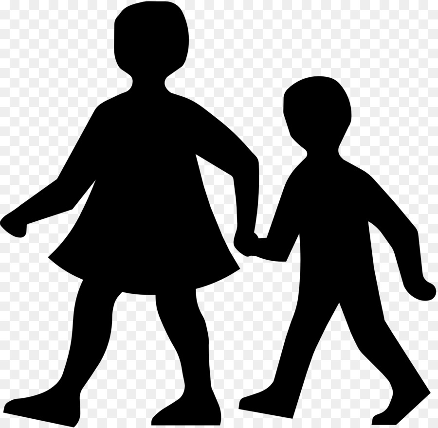 Boy walking clipart black and white vector black and white stock Black Line Background png download - 1979*1934 - Free Transparent ... vector black and white stock