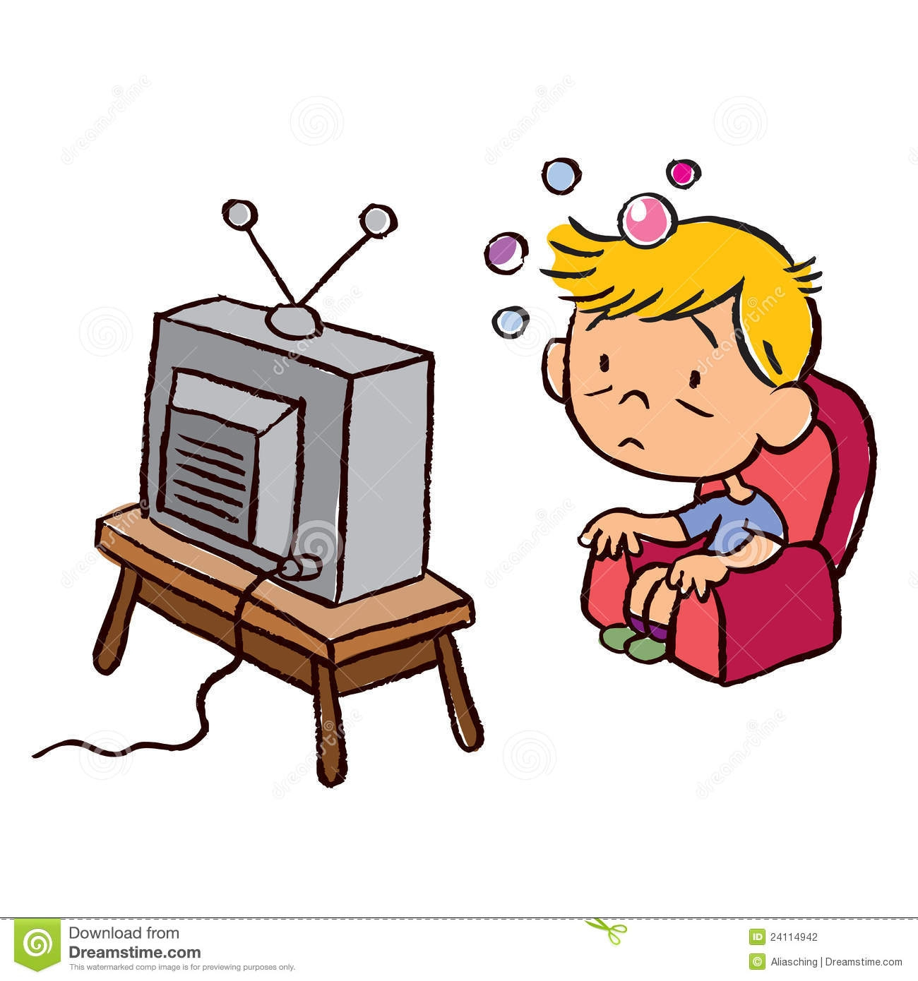 Boy watching tv clipart clipart freeuse stock Boy watching tv clipart 7 » Clipart Station clipart freeuse stock