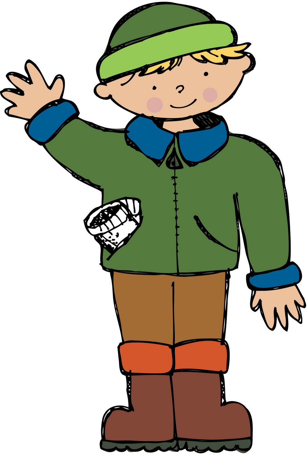 Boy wearing mittens clipart picture royalty free Free Green Mitten Cliparts, Download Free Clip Art, Free Clip Art on ... picture royalty free