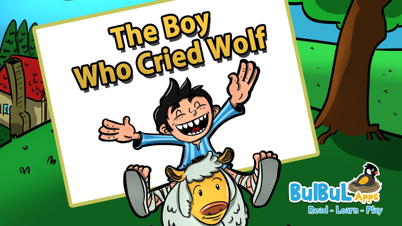 Boy who cried wolf clipart clip library The Boy Who Cried Wolf | Moral Story For Kids | Animated Stories for kids |  Bulbul Apps clip library