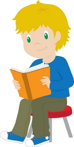 Reading clipartfest book. Boy with books clipart