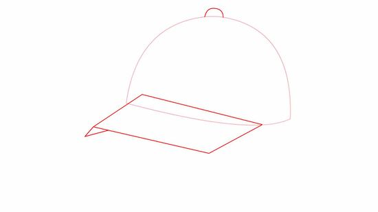Boy with cap back of head clipart clip transparent download How to Draw a Baseball Cap: 10 Steps (with Pictures) - wikiHow clip transparent download
