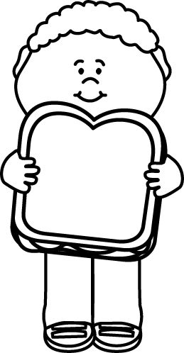 Boy with lunch clipart black and white png library download Lunch Box Clipart Black And White   Free download best Lunch Box ... png library download