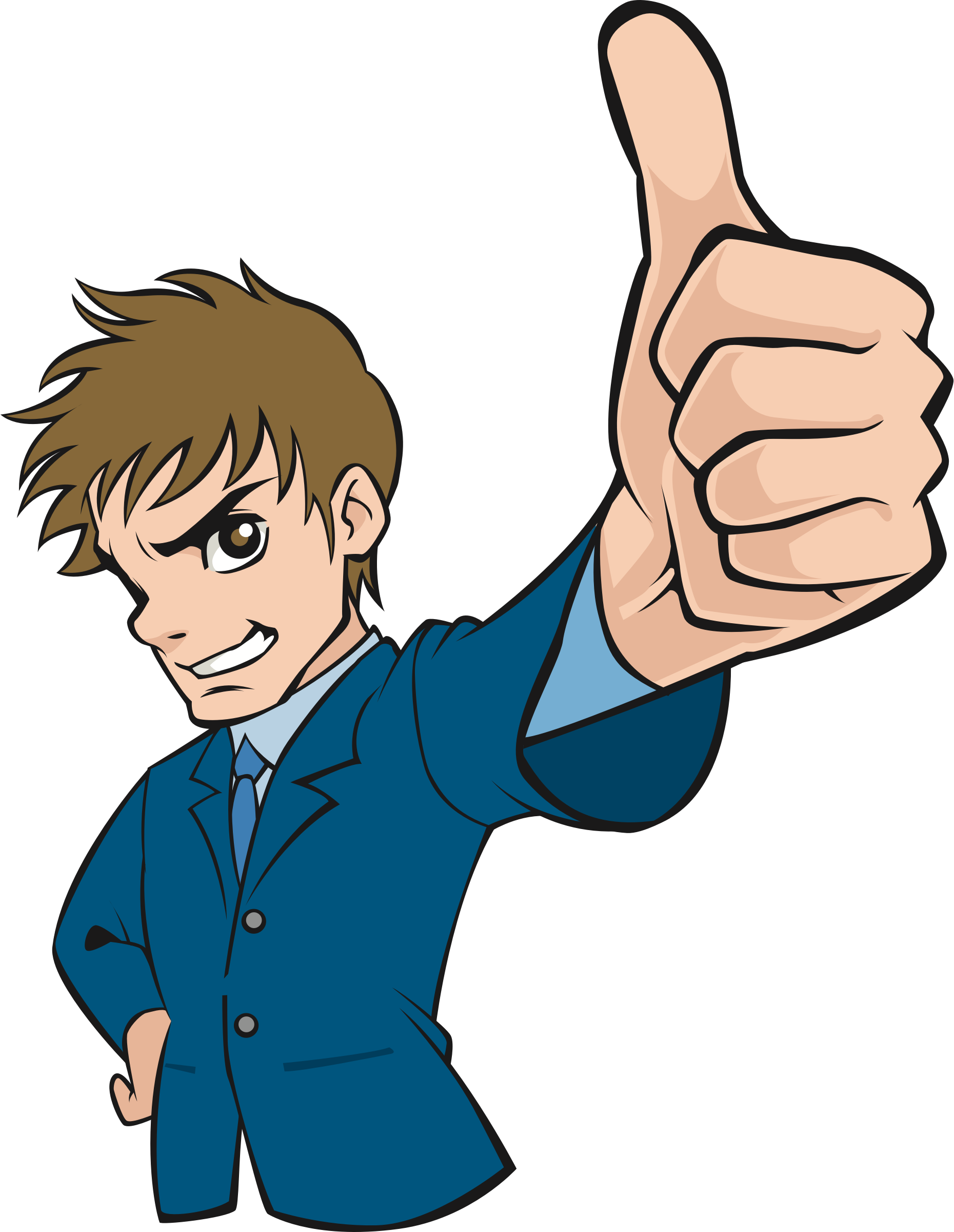 Boy with thumbs up clipart jpg royalty free Clipart - Thumbs up (#1) jpg royalty free