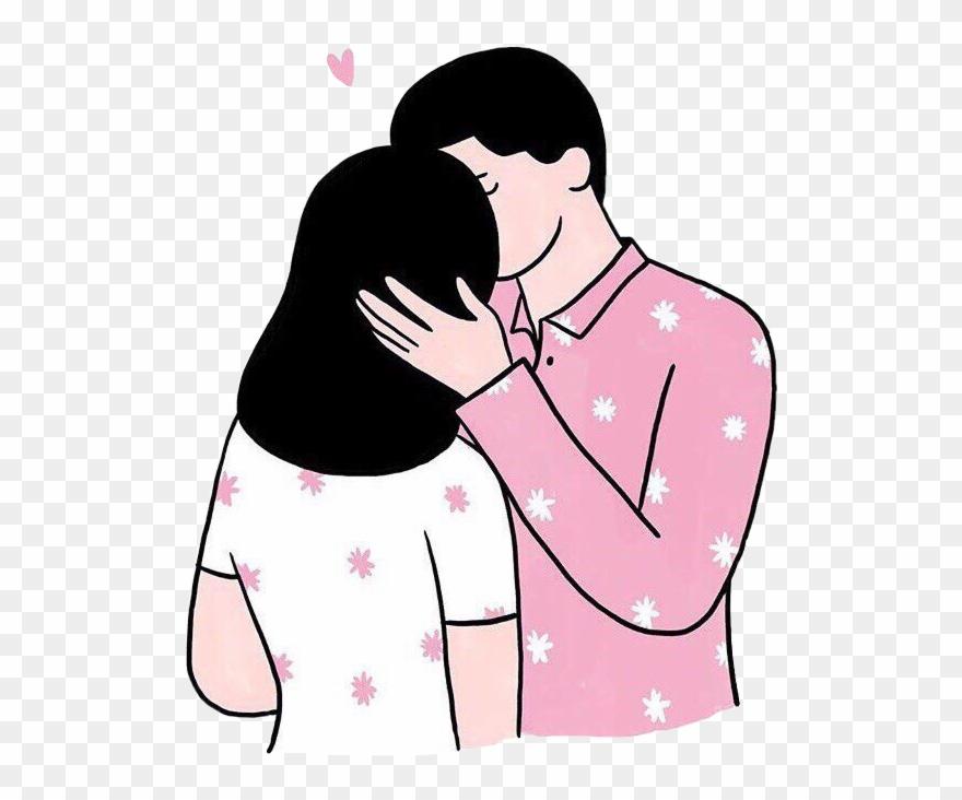 Boyfriend girlfriend clipart clipart freeuse library Clip Art Girlfriend Boyfriend Kiss - Love - Png Download (#2104482 ... clipart freeuse library