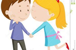 Boyfriend girlfriend clipart jpg Boyfriend and girlfriend young couple man and woman dressed as h ... jpg