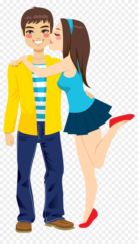 Boyfriend girlfriend clipart svg black and white download 240 2402782 Girlfriend Boyfriend Kiss Romance Clip Art Hugging ... svg black and white download