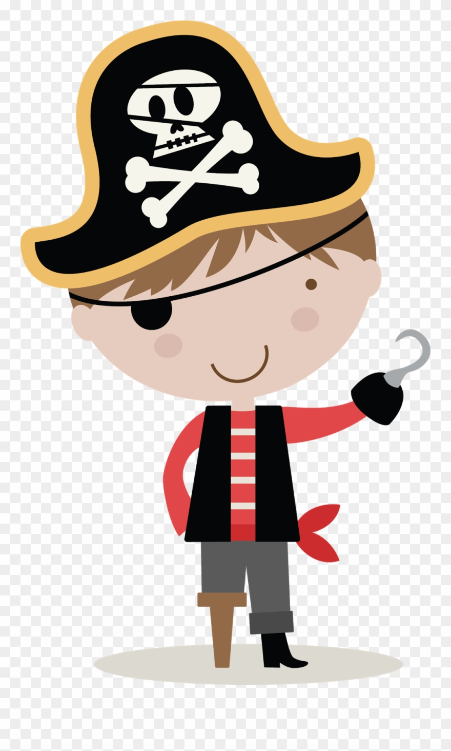 Pirate clipart for kids free