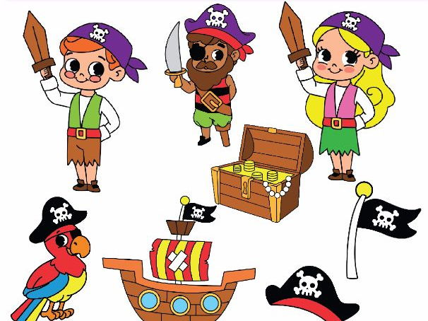 Pirate clipart pictures graphic black and white library Pirate Clipart Pirate Clip Art graphic black and white library