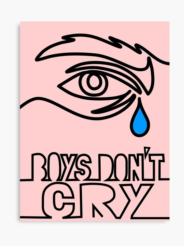 Boys dont cry clipart clip art freeuse download The Cure - Boys Don't Cry | Canvas Print clip art freeuse download