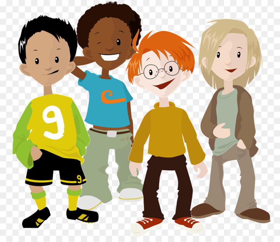 Boys friendship clipart jpg free download Cartoon Football clipart - Child, Boy, Football, transparent clip art jpg free download