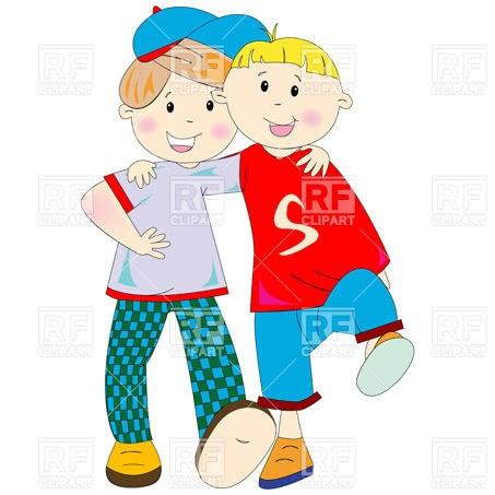 Boys friendship clipart clip library Boys friendship clipart 5 » Clipart Portal clip library