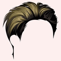 Boys hair style clipart png freeuse library Hair Hairs Style Styles Face Faces Boy Boys Human People Person Male ... png freeuse library