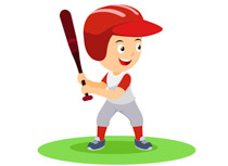 Boys playing baseball clipart clipart transparent download Sports Clipart - Free Baseball Clipart to Download clipart transparent download
