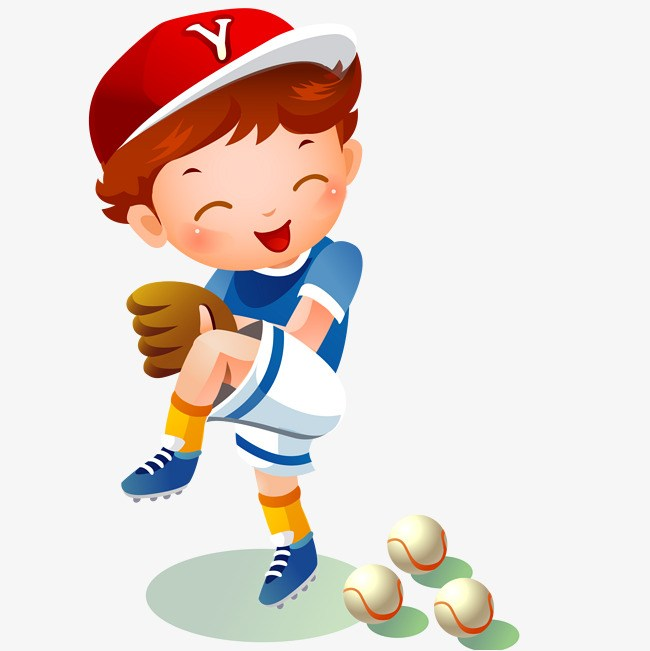 Boys playing baseball clipart vector download Kids playing baseball clipart 7 » Clipart Portal vector download