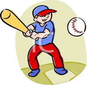 Boys playing baseball clipart svg library stock A Kid Playing Baseball Clipart | Clipart Panda - Free Clipart Images svg library stock
