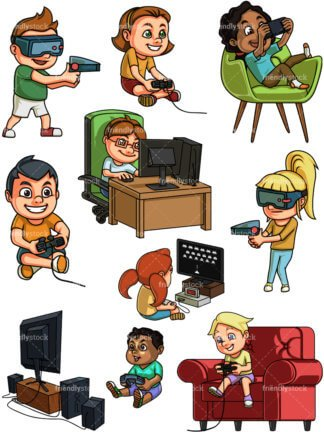 Boys playing video games clipart jpg black and white stock Kid playing video games clipart 6 » Clipart Portal jpg black and white stock