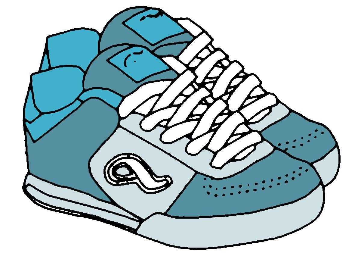 Boys shoes clipart