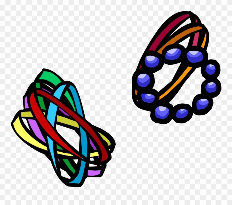 Bracelets clipart jpg free download Mixed Bracelets Clothing Icon Id - Club Penguin Bracelets Clipart ... jpg free download