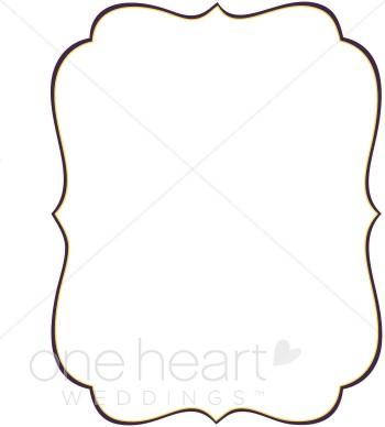 Bracket border clipart clipart black and white Stylish Bracket Clipart | Wedding Borders clipart black and white