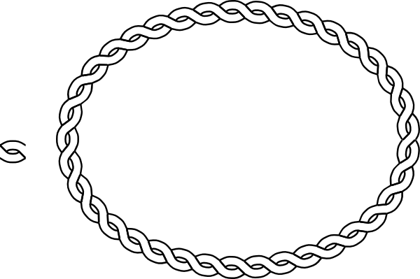 Braided rope clipart vector free stock Braided rope clipart clipart images gallery for free download ... vector free stock