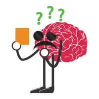 Brain confused clipart image freeuse Brain Brains Glasses Glass Standing Stand Hands Hand Legs Leg ... image freeuse