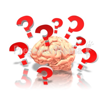 Brain confused clipart banner library stock Brain With Questions - Presentation Clipart - Great Clipart for ... banner library stock