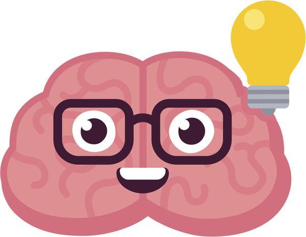 Brain emoji clipart banner Cute Pink Kawaii Brain Emoji Cartoon - Big Idea Vinyl Decal Sticker banner