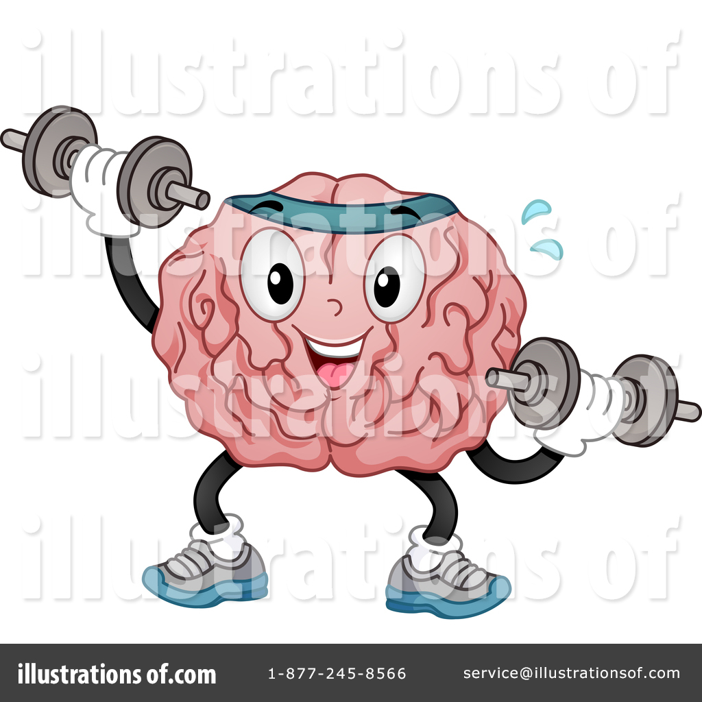 Brain muscle clipart transparent stock Brain Clipart #1429414 - Illustration by BNP Design Studio transparent stock