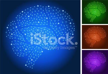 Brain nodes clipart graphic transparent Brain ON Triangular Nodes Connection Structure Vector Art premium ... graphic transparent
