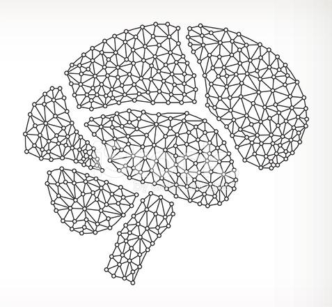 Brain nodes clipart clip art library library Brain on Triangular Node Royaltfree Vecotr Graphic Stock Vector ... clip art library library