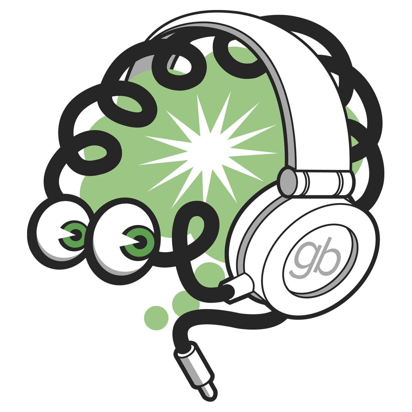 Brain waves clipart image freeuse download Brain Waves: The Green Brain Comics Podcast   Listen via Stitcher ... image freeuse download