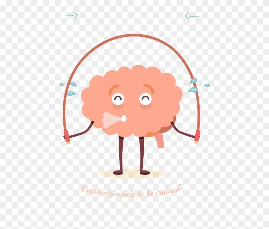 Brain working out clipart picture free Physical Exercise Brain Injury Cognitive Training Skipping - Png ... picture free