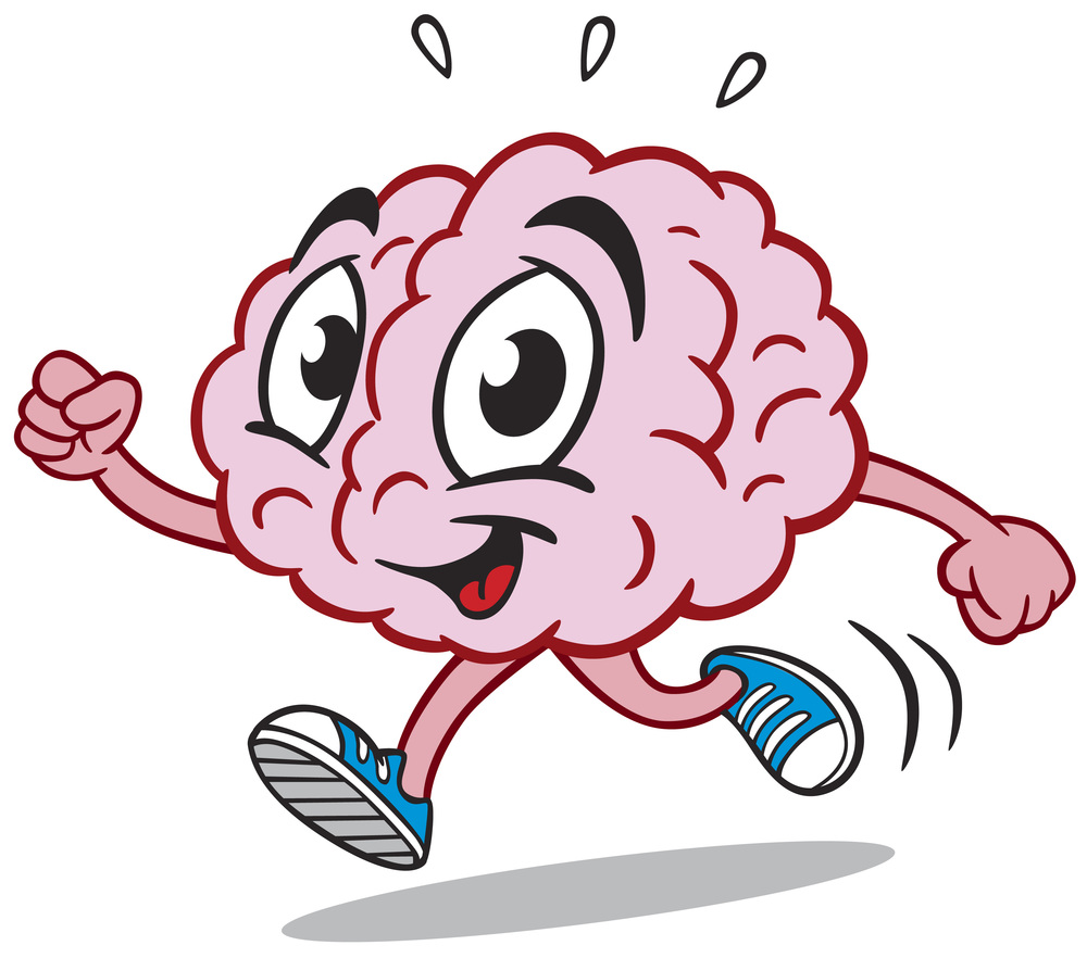 Brain working out clipart graphic transparent stock Exercise Weekly Can Improve Your Brain Memory Functions ~ Open Your ... graphic transparent stock