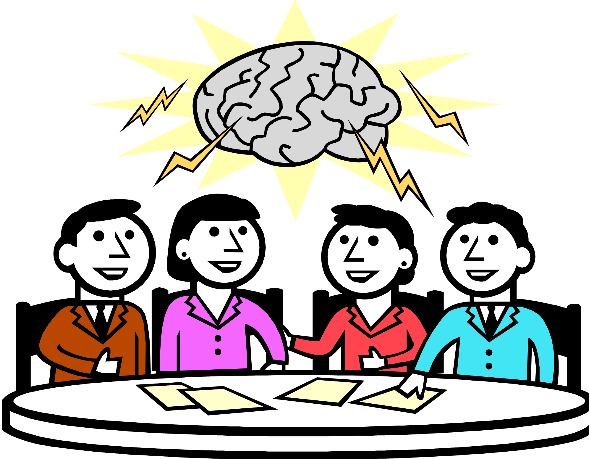Brainstorming clipart free png library library Free Brainstorming Session Cliparts, Download Free Clip Art, Free ... png library library