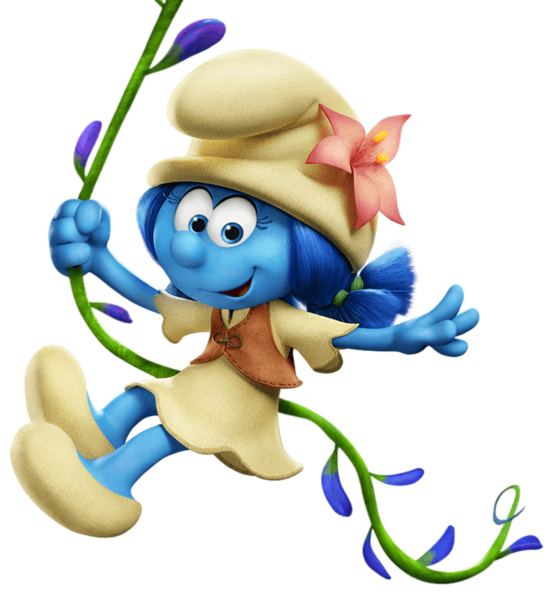Turkey clipart only 1080px clipart royalty free download Lily Smurfs The Lost Village Transparent PNG Image | Şirinler ... clipart royalty free download